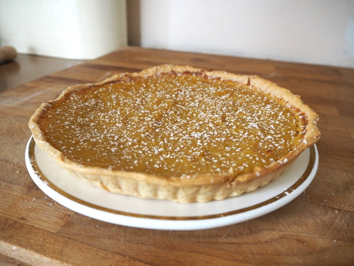 Country bumpkin pumpkin pie